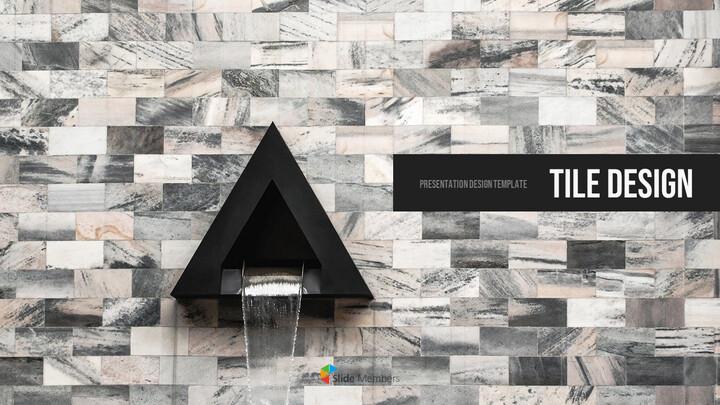 Tile Design PPT Background_01