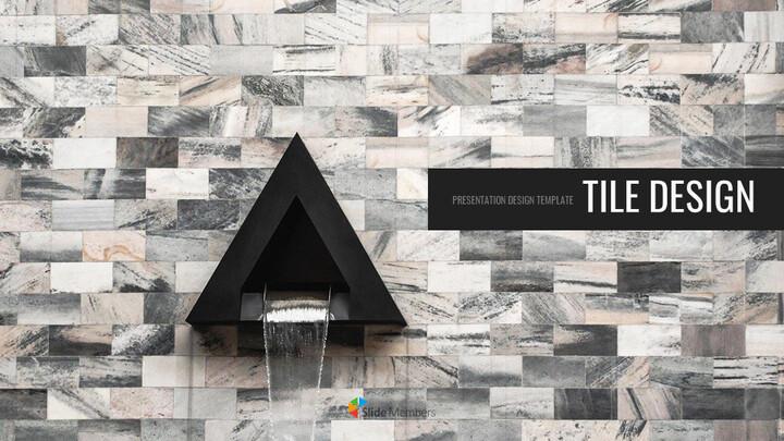 Tile Design Simple Slides Design_01