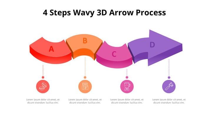 3D Arrow Process Diagram_01