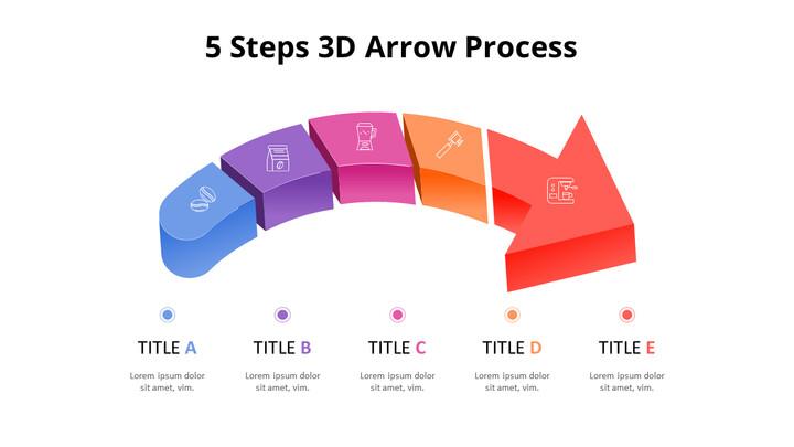 3D Arrow Process Diagram_02