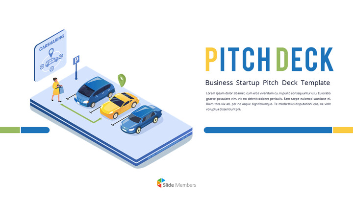Car Sharing Service Pitch Deck Animation PPT Download_01