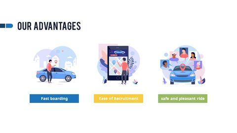 Car Sharing Service Pitch Deck Animation PPT Download_03