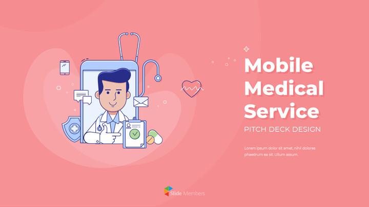 모바일 의료 서비스 쉬운 애니메이션 슬라이드_01