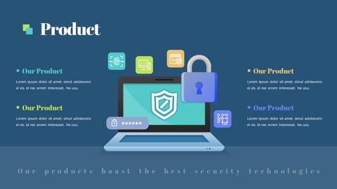 보안 회사 피치덱 파워포인트 프레젠테이션 애니메이션 슬라이드_05