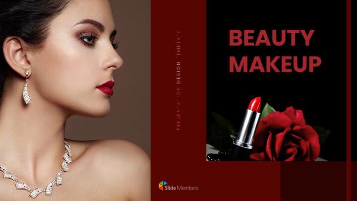 Beauty Makeup Google Slides Presentation Templates_01