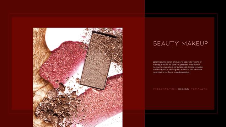 Beauty Makeup PowerPoint Templates Multipurpose Design_02