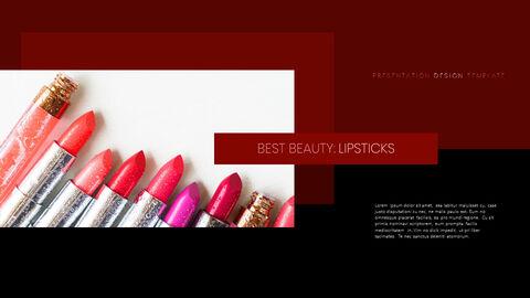 Beauty Makeup PowerPoint Templates Multipurpose Design_03