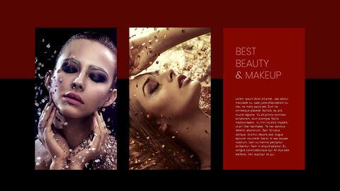 Beauty Makeup PowerPoint Templates Multipurpose Design_04