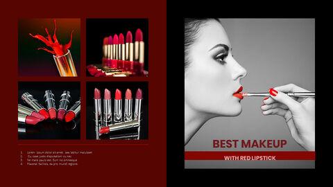 Beauty Makeup PowerPoint Templates Multipurpose Design_05