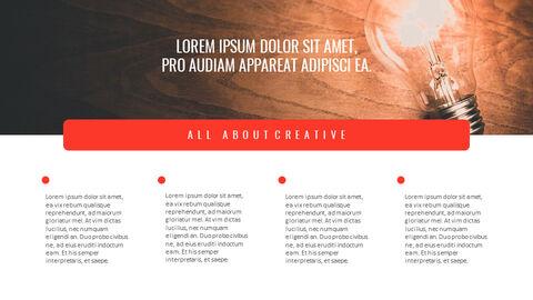 크리에이티브 정보 프레젠테이션 PowerPoint 템플릿 디자인_08