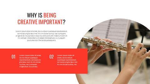 크리에이티브 정보 프레젠테이션 PowerPoint 템플릿 디자인_23