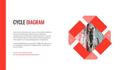 크리에이티브 정보 프레젠테이션 PowerPoint 템플릿 디자인_35