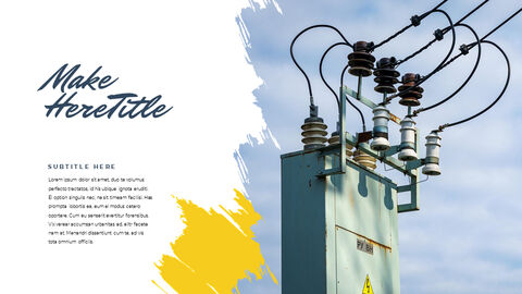 Electrical work Templates PPT_05