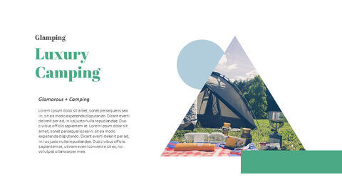 Glamping Theme PPT Templates_04