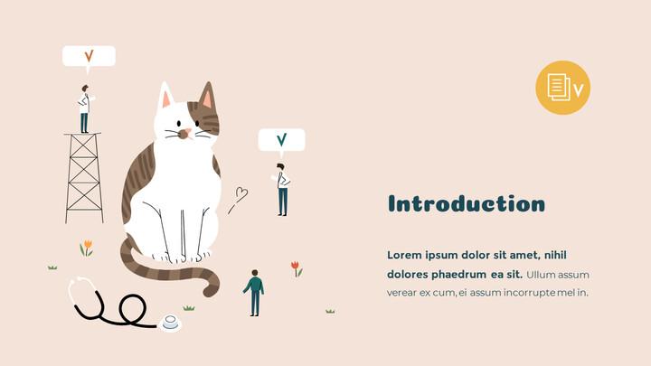 프리미엄 애완 동물 관리 서비스 마케팅용 프레젠테이션 PPT_02
