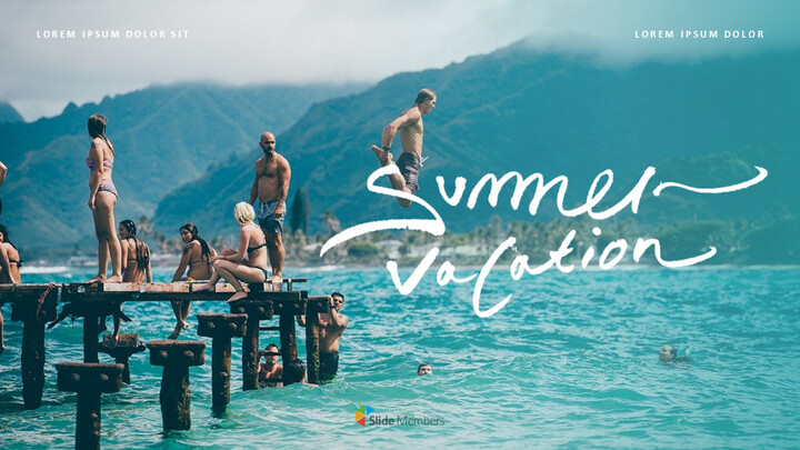 Summer Vacation Google Slides for mac_01
