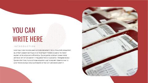 헌혈 비즈니스 프레젠테이션 템플릿_11