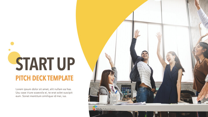 Startup Pitch Deck Circle Design Template Keynote_01