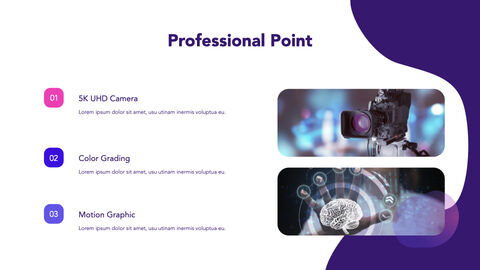 Video Production Group Pitch Deck Keynote Templates_02