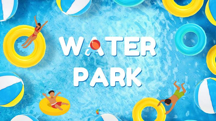 Water Park Simple Google Slides Templates_01