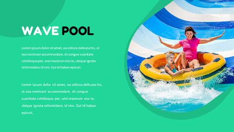 Water Park Simple Google Slides Templates_04