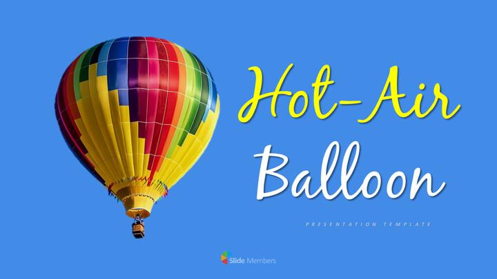Hot air balloon Simple Templates Design_01