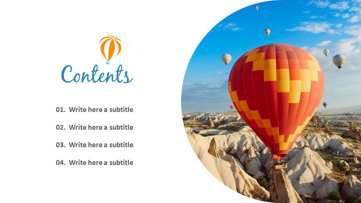 Hot air balloon Simple Templates Design_02