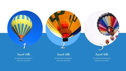 Hot air balloon Simple Templates Design_04