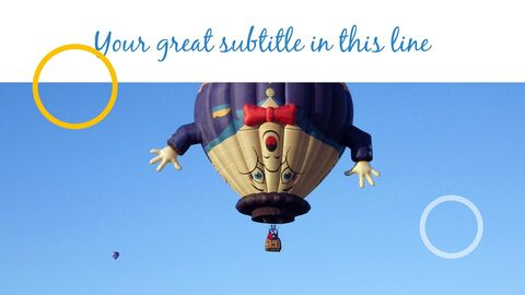 Hot air balloon Simple Templates Design_05