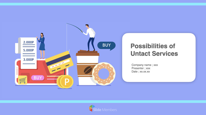 Possibilities of Untact Service Keynote_01