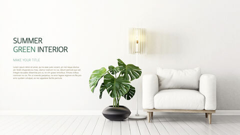 Summer Green Interior Theme Keynote Design_03