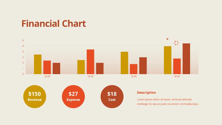 재무 차트 프레젠테이션 슬라이드_02