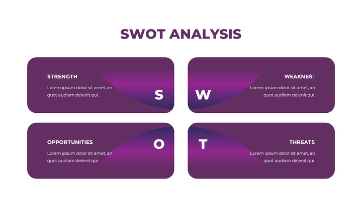 SWOT 분석 파워포인트 슬라이드_02