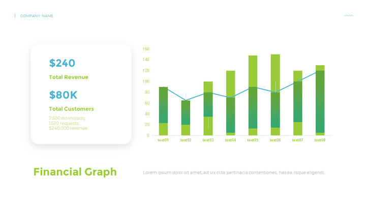 재무 그래프 분석 PPT 레이아웃_02
