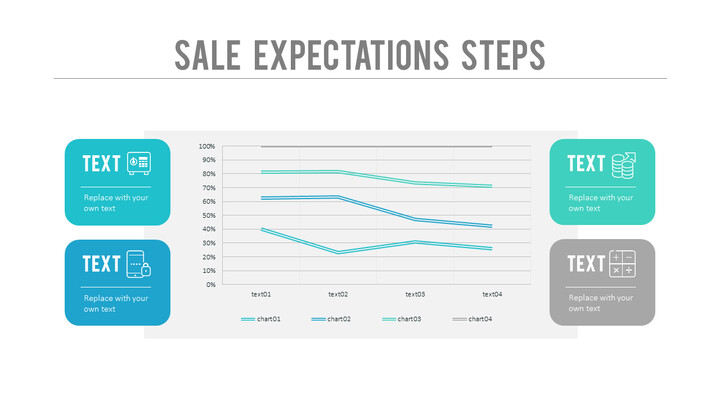 Sales Expectations Steps PPT Layout_01