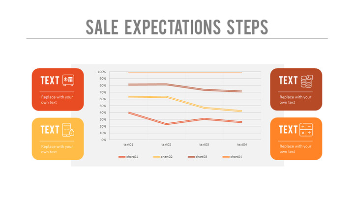 Sales Expectations Steps PPT Layout_02