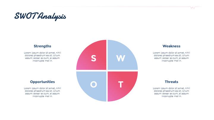 SWOT 분석 PPT 덱 디자인_01