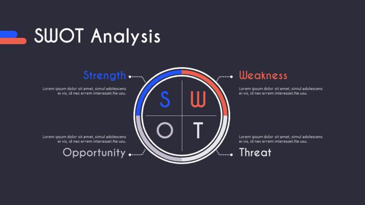 SWOT 분석 슬라이드 레이아웃_01