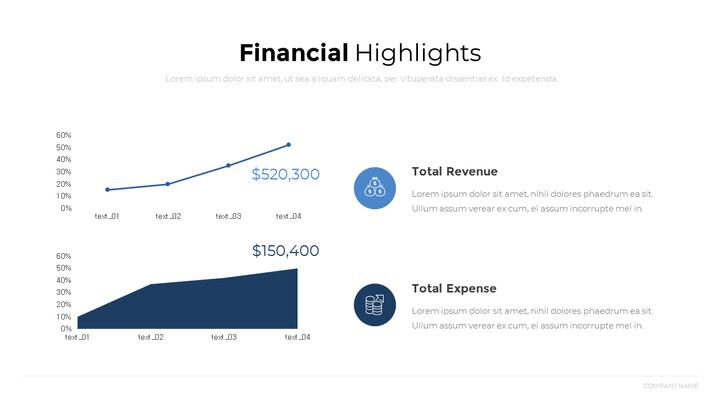 Financial Highlights PowerPoint Design_01