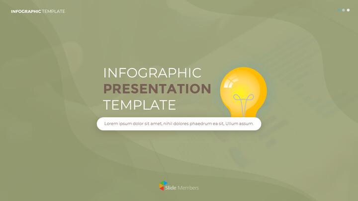 Infographic 평면 디자인 템플릿 표지_02