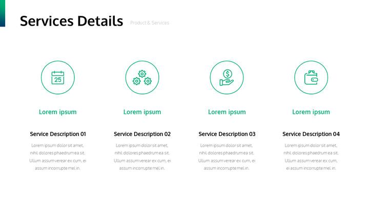 서비스 세부 사항 PowerPoint Slide_01