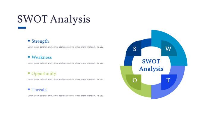 SWOT 분석 프리젠 테이션 데크_01