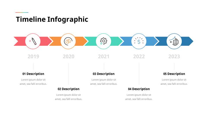 Timeline Infographic Simple Slide_01