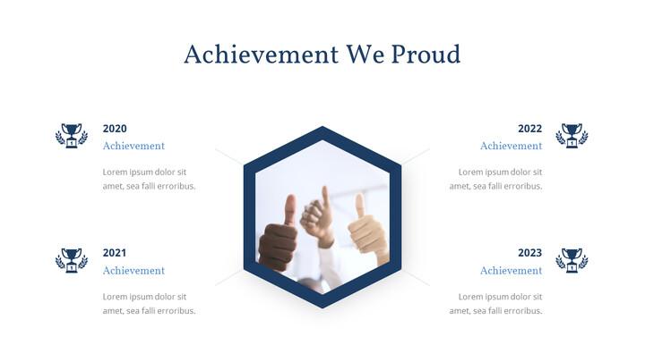 Achievement We Proud PowerPoint Layout_01