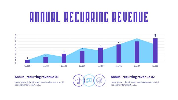 annual recurring revenue Simple Slide_01
