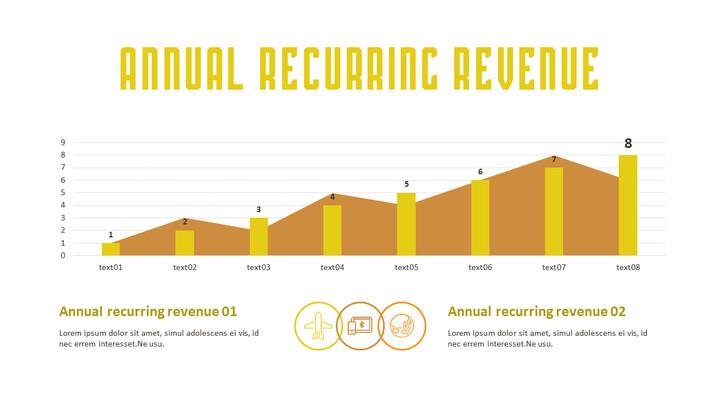 annual recurring revenue Simple Slide_02