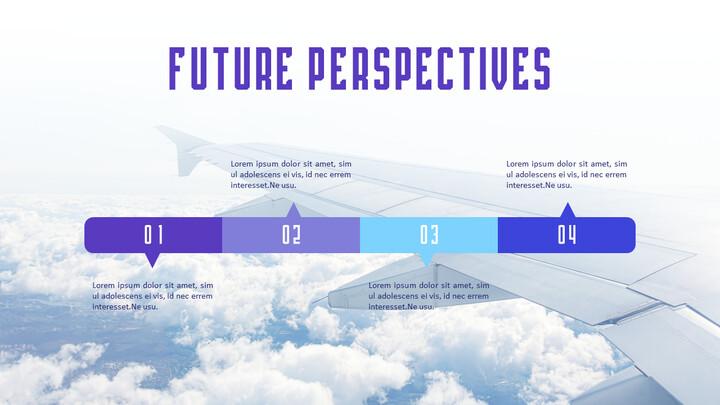 미래의 관점 PowePoint 슬라이드 데크_01