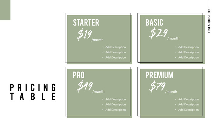 Pricing Table Simple Deck_02