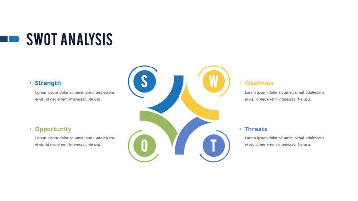 SWOT 분석 PPT 슬라이드_01