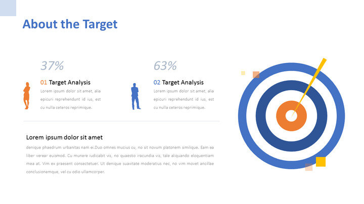 About the Target PPT Design_01